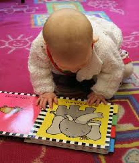 Even baby can read!